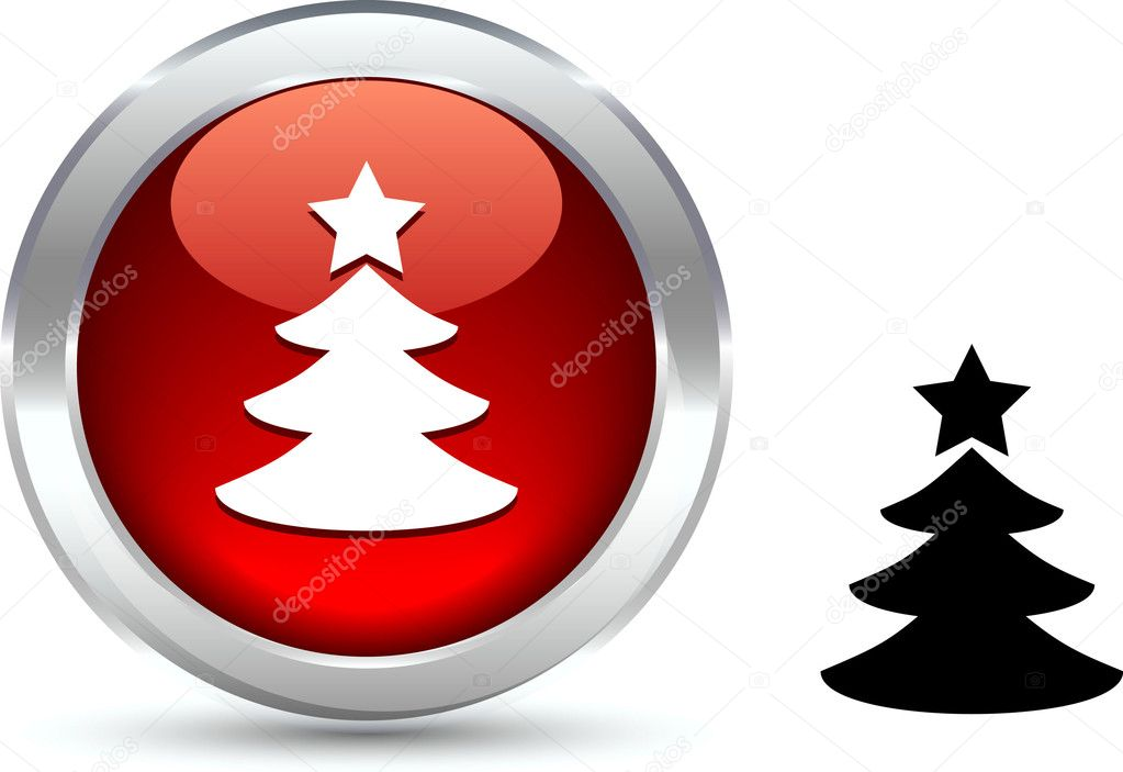 Eve  realistic button. Vector illustration. — Stock Vector #5284258