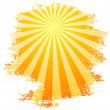 Stock Vector: Sunbeams.