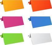折り紙の壁紙. — ストックベクタ