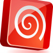 Swirl Icon. — Stockvectorbeeld