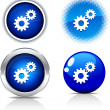 Settings buttons. — Stock Vector #5318469