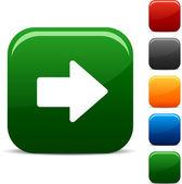 Arrow icons. — Stock Vector