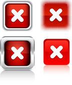 Cross icons. — Stock Vector