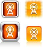 Icone di comunicazione. — Vettoriale Stock