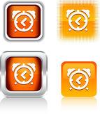 Alarm-clock icons. — Stock Vector