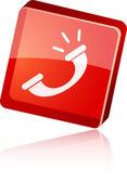 Icono de teléfono. — Vector de stock