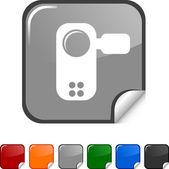 Video-symbol. — Stockvektor