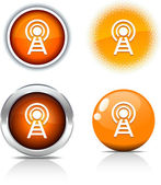 Communication buttons. — Stock Vector