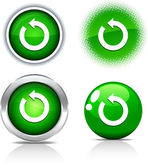 Refresh buttons. — Stock Vector