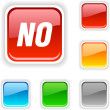 Stock Vector: No button.