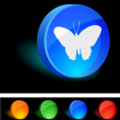 Butterfly Icon. — Stock vektor
