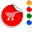 Shopping  icon. — Stock vektor
