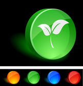 Plant Icon. — Stock Vector
