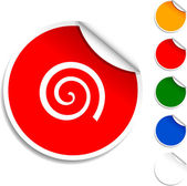 Swirl icon. — Stock Vector