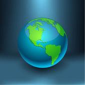 Earth - America. — Stock Vector