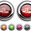 Royalty-Free Stock Vector Image: Bus button.