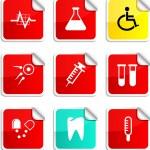 Medical stickers. — Stockvector  #5364998