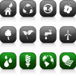 Royalty-Free Stock Vector Image: Ecology  buttons.