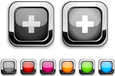 Switzerland button. — Stock Vector
