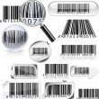 Set of barcodes. — Vektorgrafik