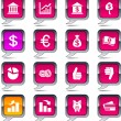 Royalty-Free Stock Vector Image: Money  balloon icons.