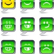 Smiley balloon icons. — Stock Vector #5377015