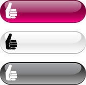 Good button. — Stock Vector