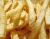 American Fast food style fresh french fries — Stock Photo