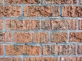 Tuğla duvar çimentolu birlikte var olmuştur kaldırıldı sprey boya f — Stok fotoğraf