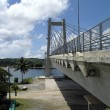 Koror-Babeldaob Bridge, Palau viewed from Koror side — Stock Photo