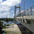 Stock Photo: Koror-Babeldaob Bridge, Palau viewed from Koror side