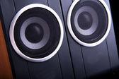 Computer speakers — Stock Photo