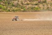 Tractor plow — Stock Photo