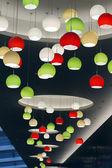 Hängande lampor — Stockfoto