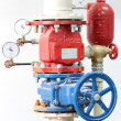 Fire Sprinkler Control System — Stock Photo #4562045
