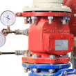 Fire Sprinkler Control System — Stock Photo