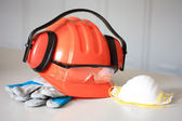 Protective gear — Stock Photo