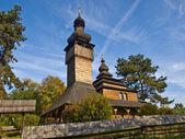 Iglesia de madera — Foto de Stock