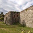 Stock Photo: Fortress wall