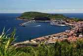 Port of Horta — Stockfoto