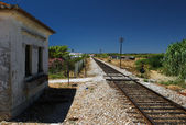 Railway station in Portugal — Stock Photo