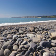 Stoney beach - Stock Photo