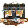 Money Chest - Stock Photo