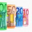 Royalty-Free Stock Photo: Euro Currency Banknotes