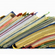 Multicolored files and folders — Stock Photo