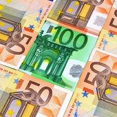 Moeda euro — Foto Stock