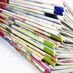 Stack of Magazines — Stock Photo #4530610