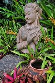 Buddyjska statua — Zdjęcie stockowe