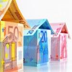 Euro Houses — Stock Photo