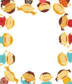 儿童边框 — 图库矢量图片